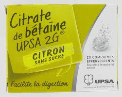 citrate de Betaine
